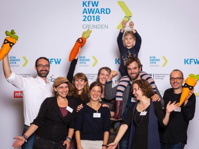 Prämierung KfW Award Gründen 2018, Sonderpreis Ackerdemia e.V.